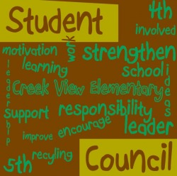 4th Grade Student Council Posters http://mswade.weebly.com/student-council.html
